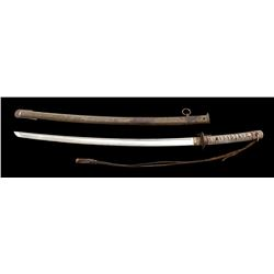 Mid-WWII Period Japanese NCO Sword