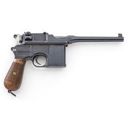 Mauser C96 Broomhandle Semi-Automatic Pistol