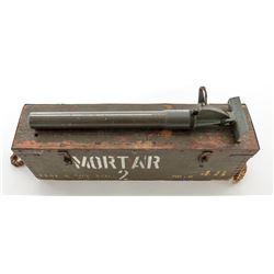 De-milled 2'' MK.8* Display Mortar  Chest