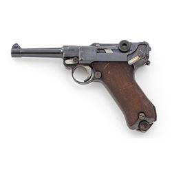 WWI DWM P.08 Luger, dated 1918