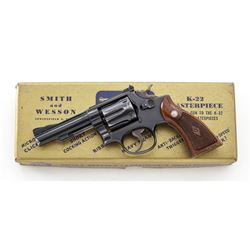 SW K-22 Masterpiece Double Action Revolver