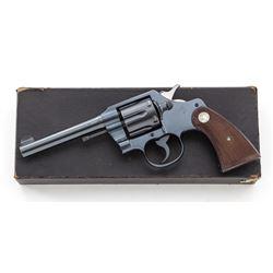 Pre-War Colt Official Police Double Action Revolvr