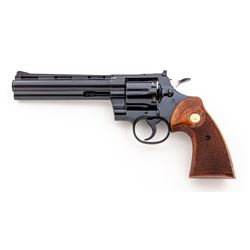 Early 1960's Colt Python Double Action Revolver