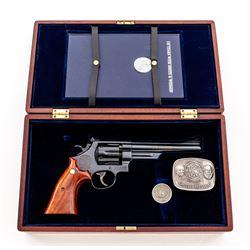 Cased SW Model 25-3 125th Anniversary Revolver