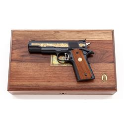 Scarce 1/200 Colt Gold Cup Camp Perry Pistol