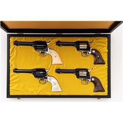Scarce Cased set of 12 Colt Kansas Series Revolvers