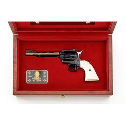 Cased Colt Kit Carson Comm. New Frontier Revolver