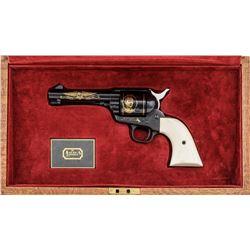 Cased Colt John Wayne Commem. Single Action Army Revolver