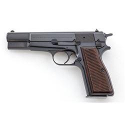 Belgian Browning High-Power Semi-Auto Pistol