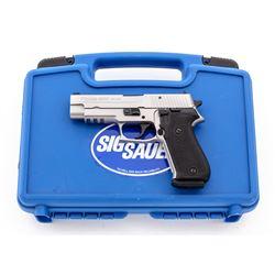 Stainless Sig Sauer P220 Semi-Auto Pistol