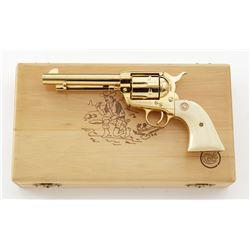 Cased Colt Calif. Gold Rush Commem. Single Action Army Revolver