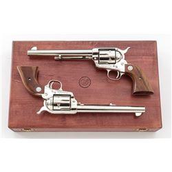 Cased 2-Gun Pony Express Peacemaker Revolvers