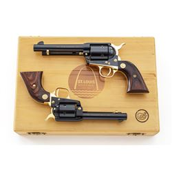 Cased Set of Colt St. Louis Bicent'l Revolvers