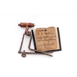 19th C. U.S. Patent Model: ''Cap Setter/Extractor''
