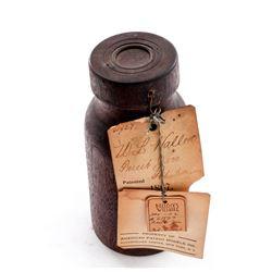 Rare 19th C. Patent Model: ''Fruit Jar''