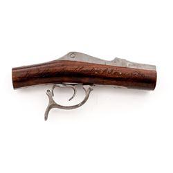 19th C. U.S. Patent Model: ''Breech Loading Fire-Arm
