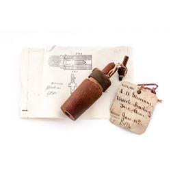 19th C. U.S. Patent Model: ''Breech-loading Fire-Arm