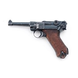 S/42 Mauser P.08 Luger, w/British proof marks