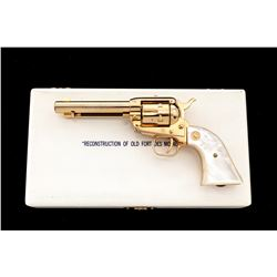 Cased Colt Old Ft. Des Moines Commem. Frontier Scout Revolver
