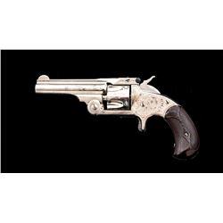 Engraved Antique SW No. 1-1/2 Tip-Up Revolver
