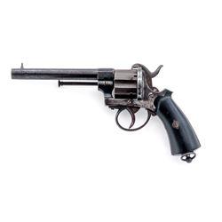 Antique Civil War Era Belgian Pinfire Revolver