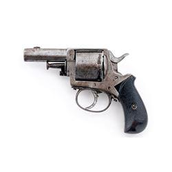 Antique ''British Bull Dog'' Style Revolver