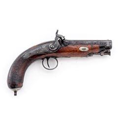 Antique British Perc. Coat/Pocket Pistol