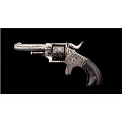 Forehand  Wadsworth Engraved Single Action Revolver