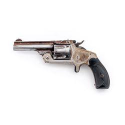 Antique SW 2nd Model Single Action Revolver