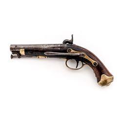 Antique European Perc. Navy Belt Pistol