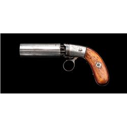 Antique American Ring-Trigger Pepperbox