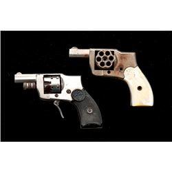 Lot of 2 Model 1910 Baby Hammerless Revolvers
