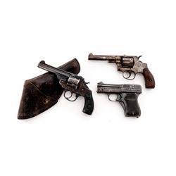 Gunsmith Lot of 3 Early 20th C. Firearms