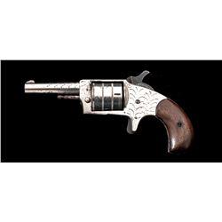 Antique ''Hard Pan'' Single-Action Pocket Revolver