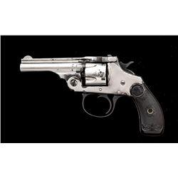 Antique Iver Johnson Tip-Up Single Action Revolver