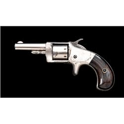 Antique ''Monitor'' Spurtrigger Pocket Revolver