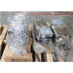 (3) Siemens Motor #1PH7133-2RG00-0BA0