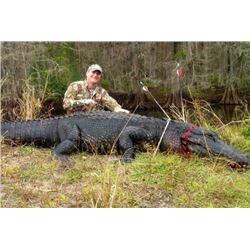 Florida – 2 Day Alligator for One Hunter and One Non-hunter
