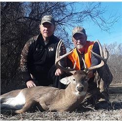Kansas – 5 Day Whitetail Deer Hunt for One Hunter