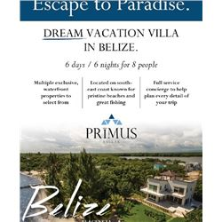 Purchaser's Choice – 6 Days/6Nights – Villa Stay for up to Eight People