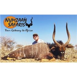 South Africa- 7 Day – Plains Game Safari for Two Hunters Each Taking One Nyala Bull