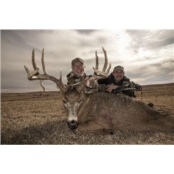 Kansas – 4 Day Rifle, 5 Day Archery, or Muzzleloader Whitetail Deer Hunt for