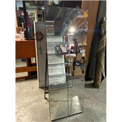 Mirrored Jewelry stand