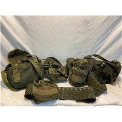 Lot of carry packs
