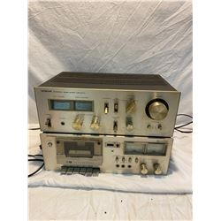 Hitachi AMP HA-270 Cassette deck