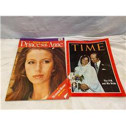 2 vintage magazines