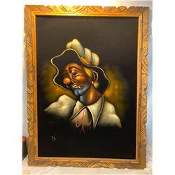 velvet clown art