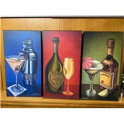3 piece art