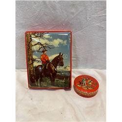2 Smaller collector tins
