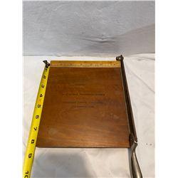 No. 2 Kodak trimming board